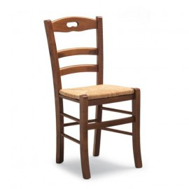 WOOD CHAIR SEAT STRAW PROVENZALE - KITCHEN HALL - SUPER PRICE