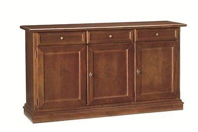Credenza Soggiorno Arte Povera : Credenza credenzina legno sala salotto cucina soggiorno ante