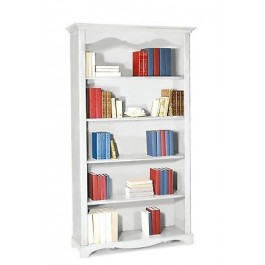 LIBRARY Mesole WOOD MATT WHITE - PRODUCT Veneto -